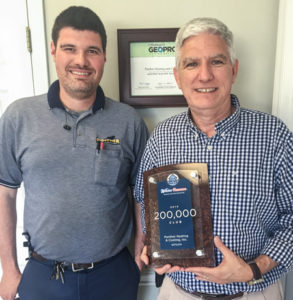 Panther wins Geothermal Sales Award for SC