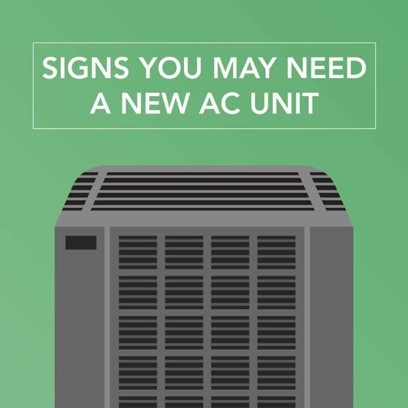Signs You May Need a New AC